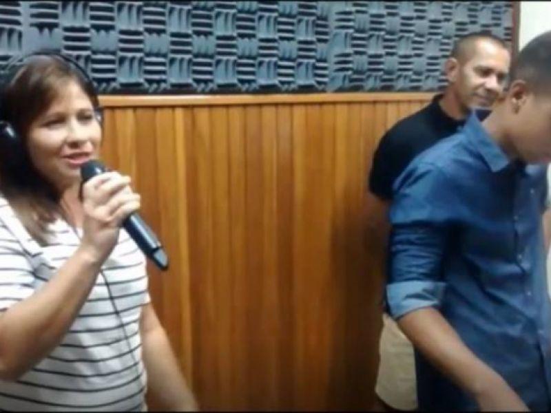 Lucy Ramalho, Junior Maia e Nubia Alexandre fazem a festa em Penedo