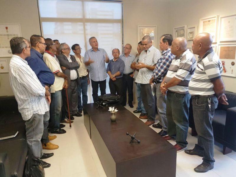 Dirigentes sindicais de Alagoas prestam solidariedade ao senador Renan Calheiros