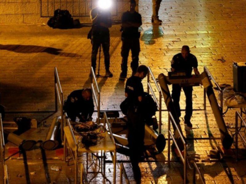 Israel retira medidas de segurança para acesso à Esplanada das Mesquitas