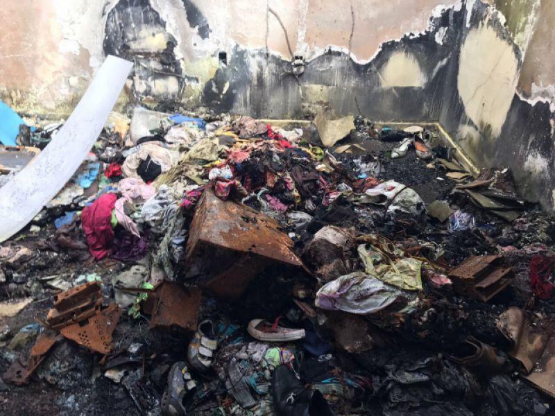 Fiscais flagram descarte irregular de resíduos no PAM Salgadinho