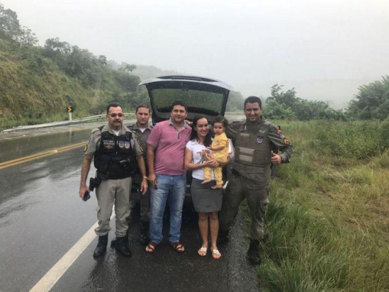 Cabo da PM que socorreu família de Penedo após acidente no Pilar é homenageado