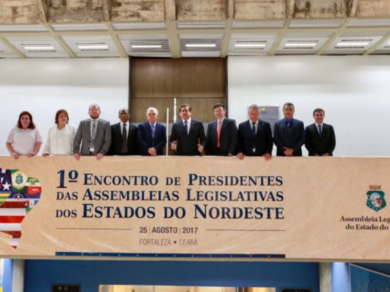 Deputados criam o Colégio de Presidentes das Assembleias Legislativas do Nordeste