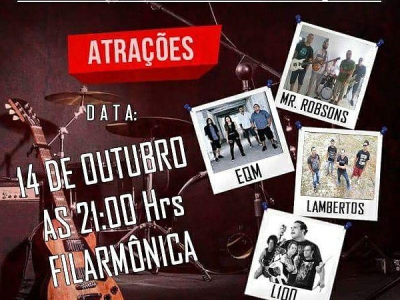 1ª edição do Projeto Rock Cultural acontece em Penedo no próximo sábado, 14 de outubro