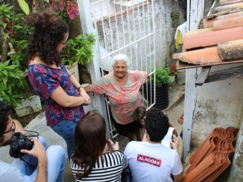 Equipe do ONU Habitat em Alagoas tem primeiro contato com grotas de Maceió