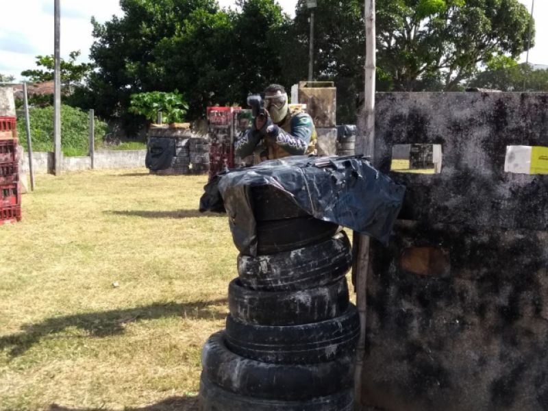 Paint Ball: nova modalidade esportiva se destaca no município de Penedo