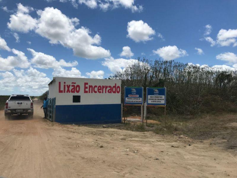 Lixão do município de Teotônio Vilela é encerrado