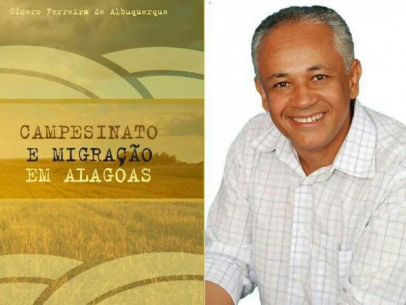 Professor/doutor Cícero Albuquerque lança seu livro nesta terça-feira (05) em Igreja Nova