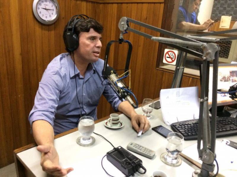 Em entrevista à Penedo FM, Március Beltrão faz balanço de sua administração em 2017