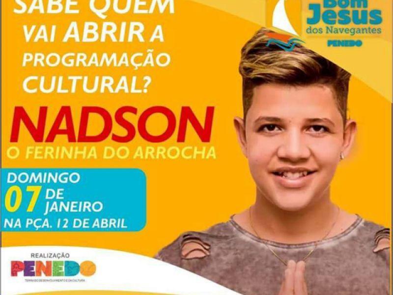 Ferinha do Arrocha: Nadson se apresenta em Penedo no próximo domingo, 07 de janeiro
