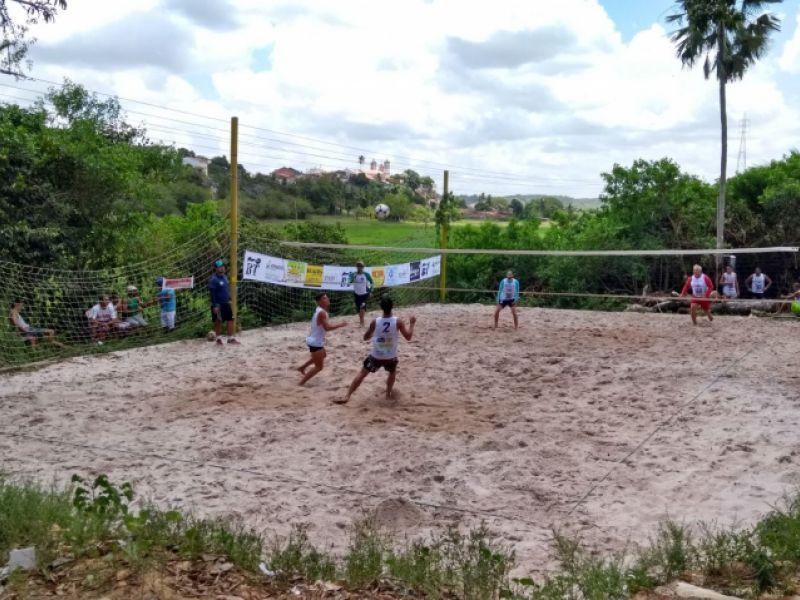 Torneio de futevôlei agitou o domingo de Bom Jesus na cidade de Penedo
