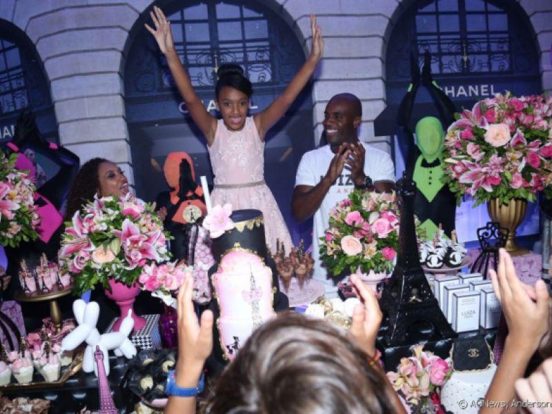 Rafael Zulu comemora 11 anos da filha, Luiza: 'Mais feliz que ela'