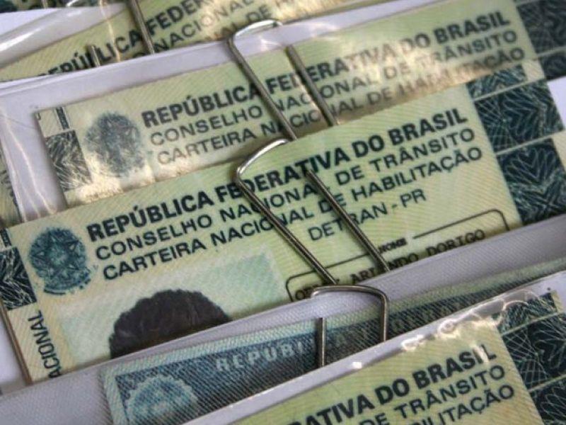 CNH poderá ser gratuita para pessoas de baixa renda desempregadas