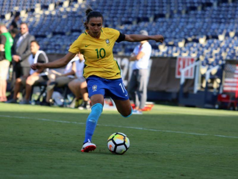 Jogadora Marta será homenageada pela Assembleia Legislativa de Alagoas