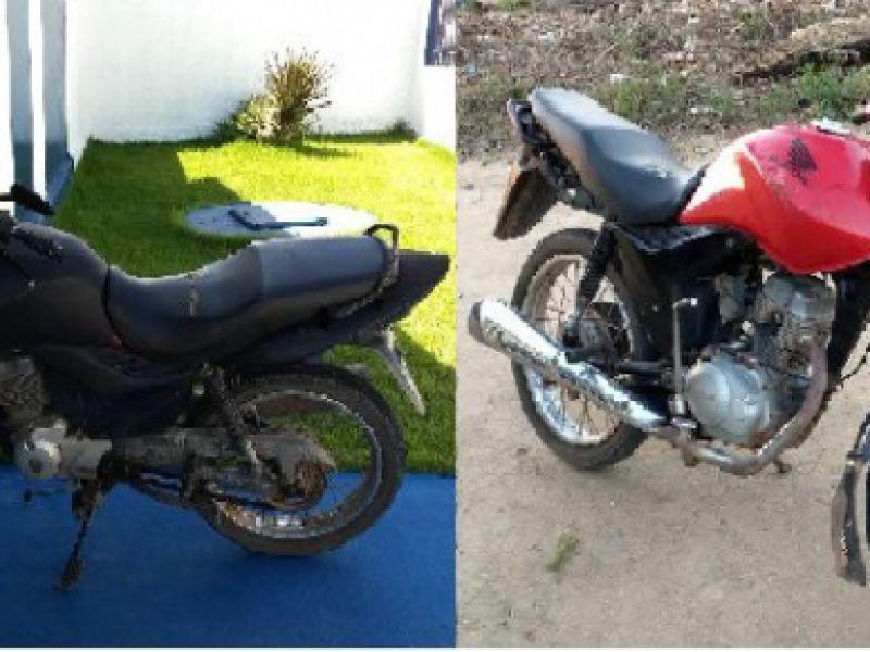 Polícia Civil recupera motocicletas no Agreste alagoano