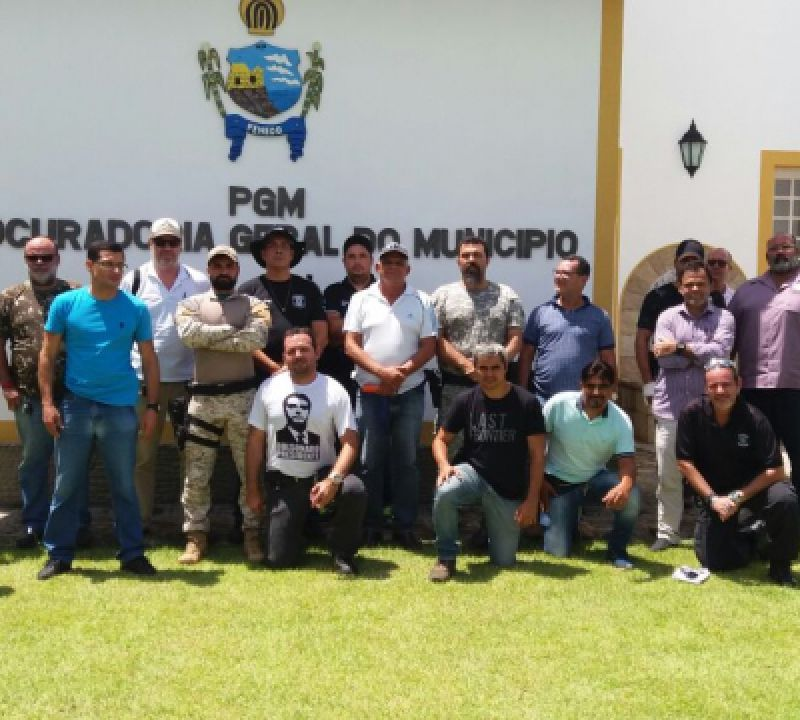 Policiais civis de Penedo participam de curso sobre alinhamento e nivelamento operacional