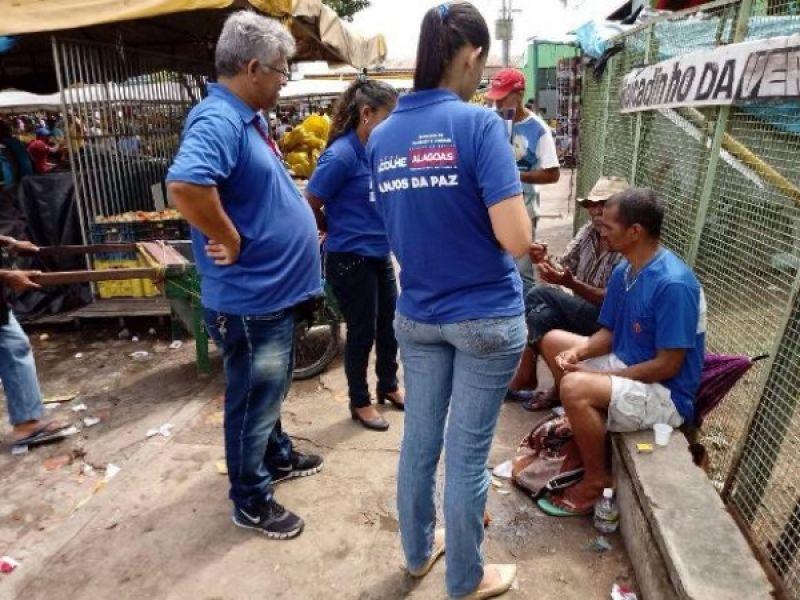 Anjos da Paz promovem ações em cinco municípios durante a semana