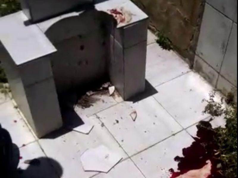 Homem sofre acidente com fratura exposta durante sepultamento de jovens em Penedo