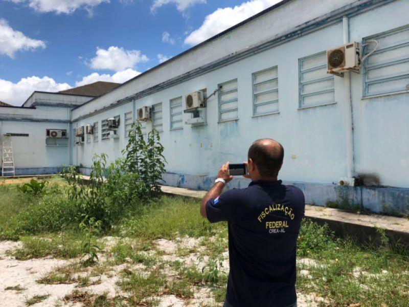 FPI do São Francisco encontra irregularidades em hospital de Penedo