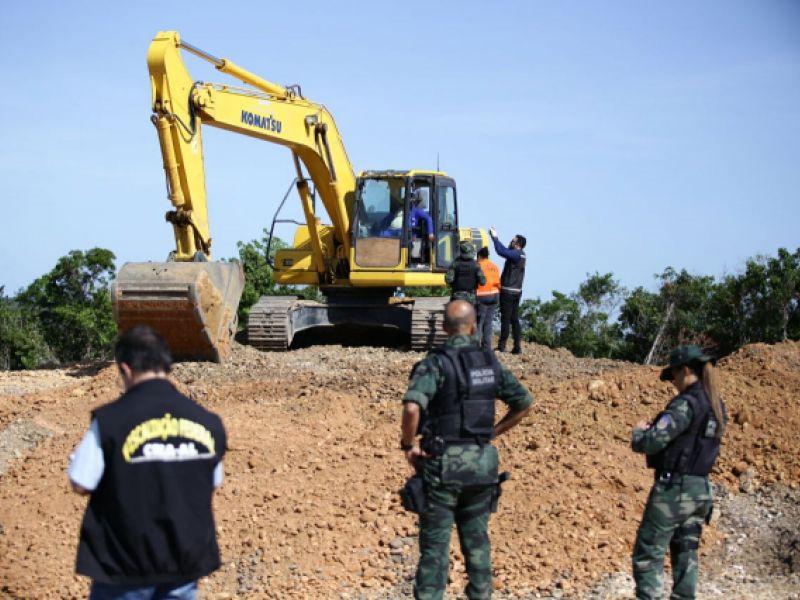 FPI impede continuação de extração mineral irregular em Coruripe