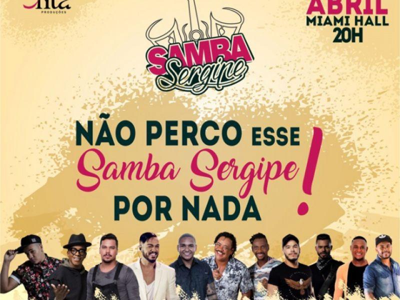 Belo, Sorriso Maroto, Mumuzinho e É o Tchan estarão juntos no Samba Sergipe