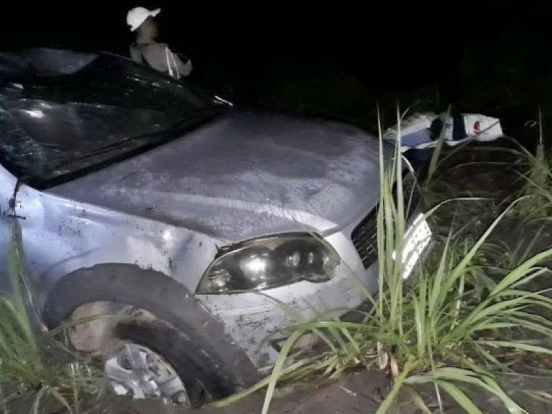 Homem morre após capotamento de caminhonete na zona rural de Coruripe