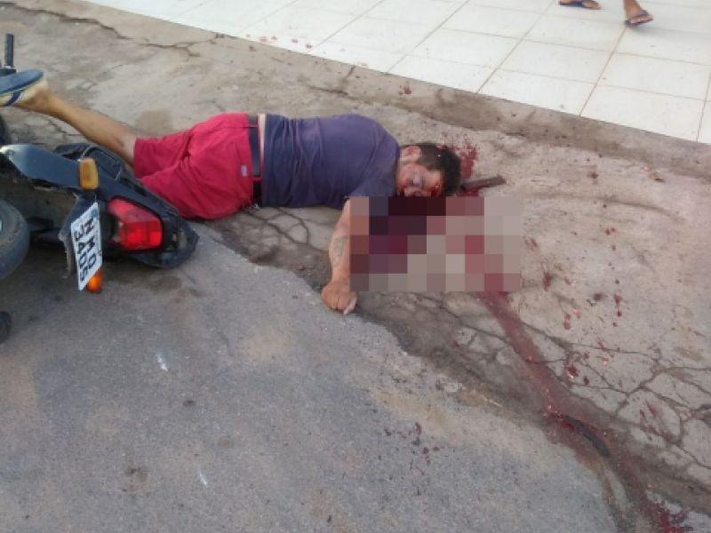 """""""Quinho da Granja"""" é assassinado a tiros nesta quinta (5) na cidade de Coruripe"""