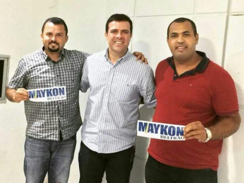 Vereadores penedenses declaram apoio a Maykon Beltrão rumo à Câmara Federal