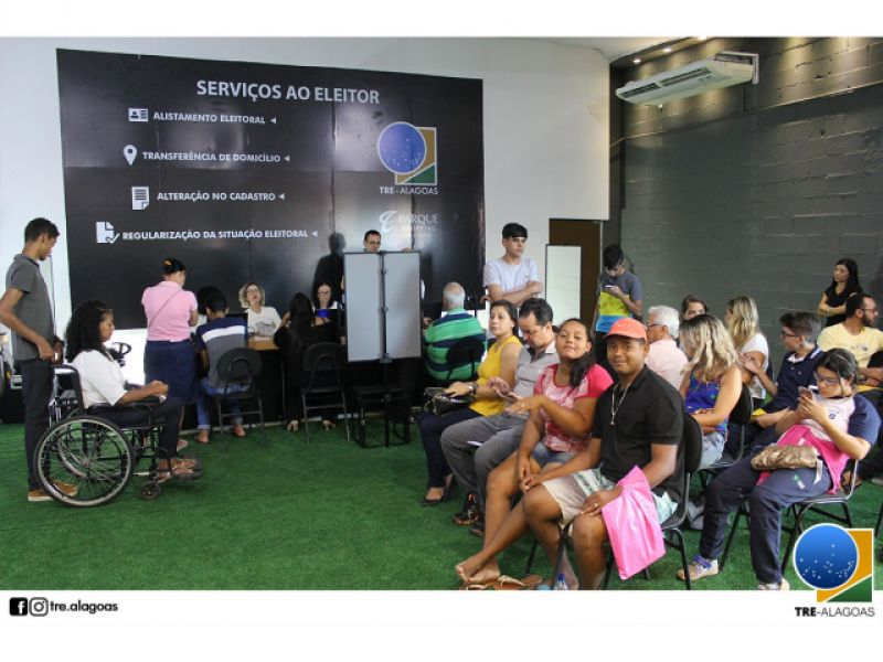 TRE/AL inaugura posto de atendimento no Parque Shopping Maceió