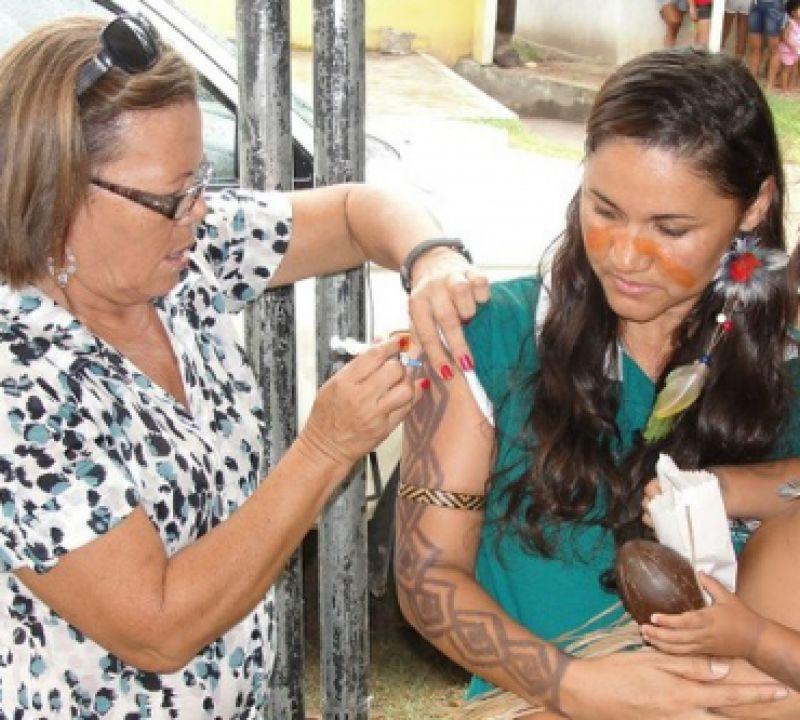 Campanha de vacinação dos povos indígenas vai até 20 de maio