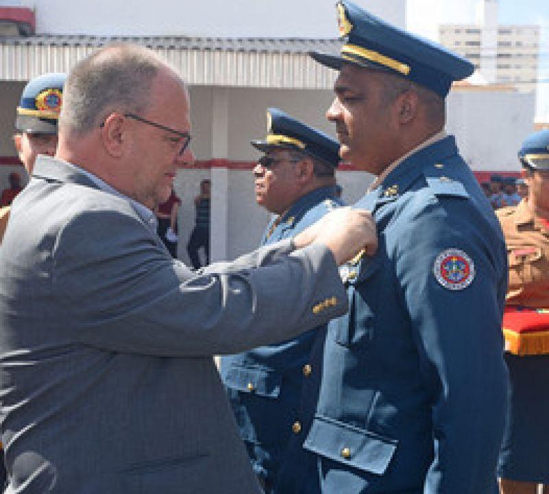 Governo promove 73 militares do Corpo de Bombeiros de Sergipe