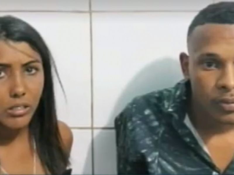 Em Maceió, casal é preso com 50 gramas de crack que seriam levadas para Piaçabuçu