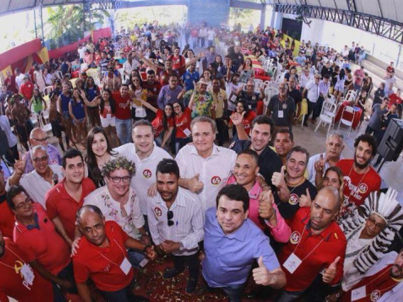 Partidos realizam convenções e anunciam apoio à reeleição dos Calheiros
