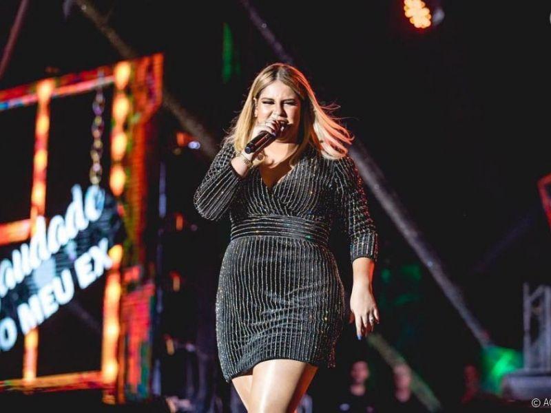 Marília Mendonça vê mudanças em shows após emagrecimento