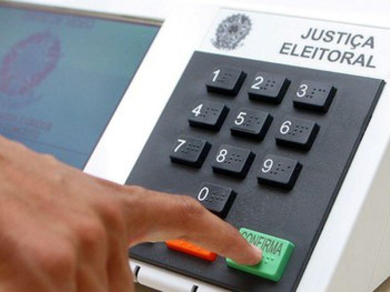 Eleições: eleitor irá votar primeiro para deputado federal e por último para presidente