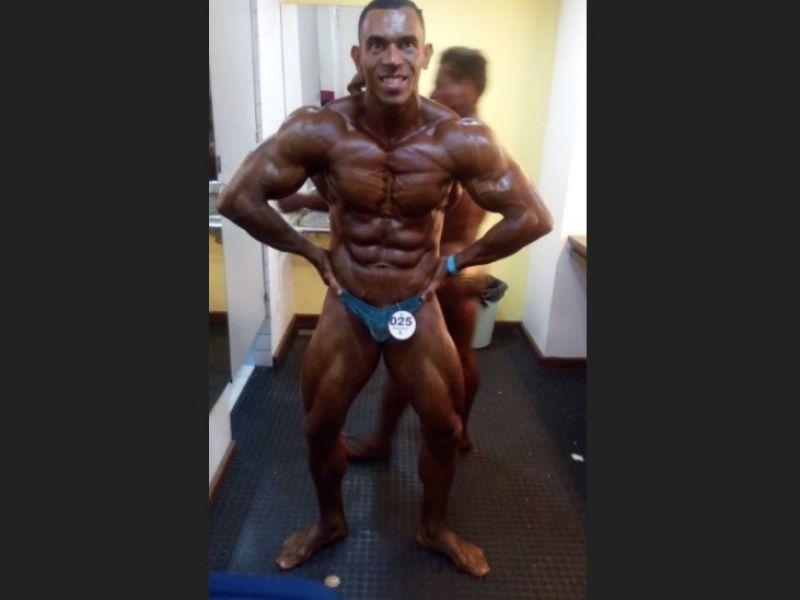 No Paraná, atleta penedense se classifica para Campeonato Mundial de Fisiculturismo