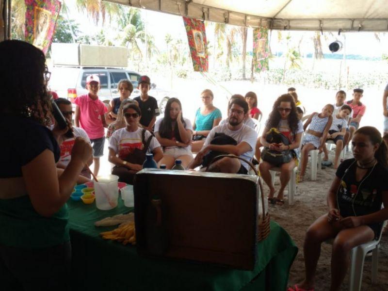 Prefeitura de Penedo e IMA realizam oficina de sabão ecológico
