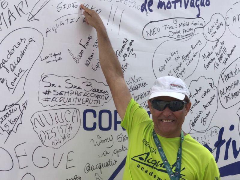 Juiz de Penedo se destaca e ganha troféu ao disputar meia maratona