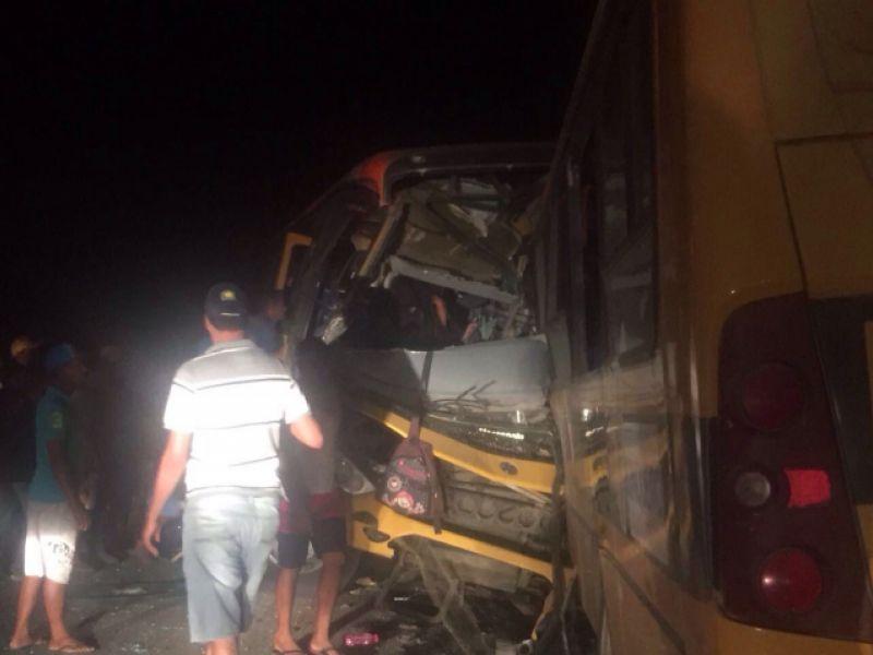 MP/AL apura culpa de máquina em acidente de ônibus com estudantes em São Sebastião