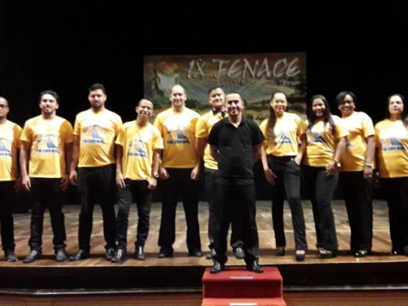 Coro Municipal de Penedo participa de Festival Nacional realizado em Recife-PE