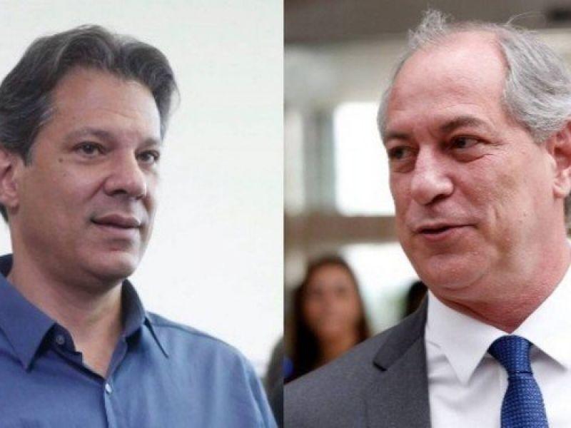 PDT de Ciro Gomes anuncia apoio crítico à candidatura de Fernando Haddad