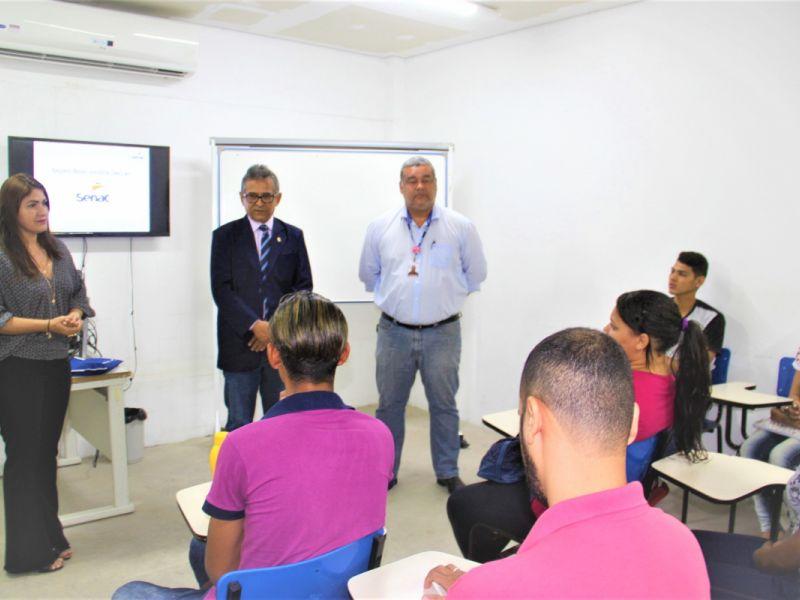 Arapiraca inicia curso profissionalizante para adolescentes infratores
