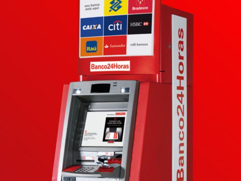 """Penedo recebe caixa do """"Banco24Horas"""" com os principais bancos do país"""