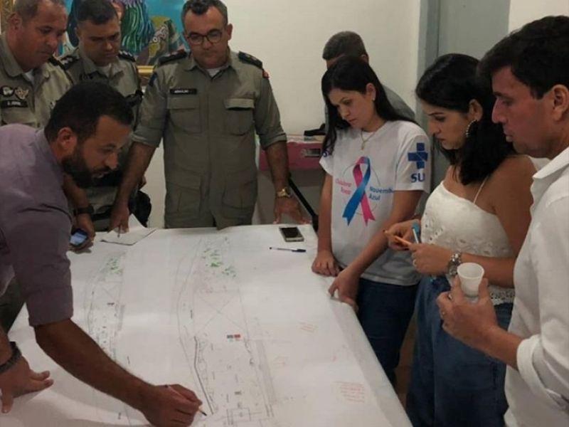 Projeto da 135ª edição da festa de Bom Jesus dos é apresentado durante reunião em Penedo