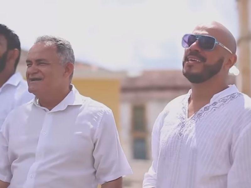 Vídeo: Com a cidade de Penedo de cenário, artistas locais gravam vídeo com pedido de paz