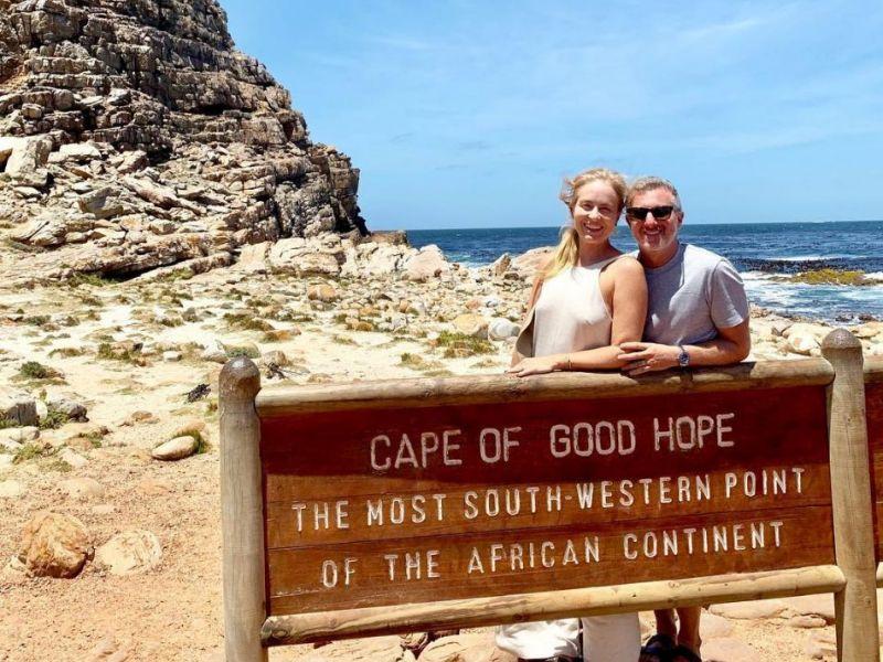 Angélica e Luciano Huck passam férias na África do Sul
