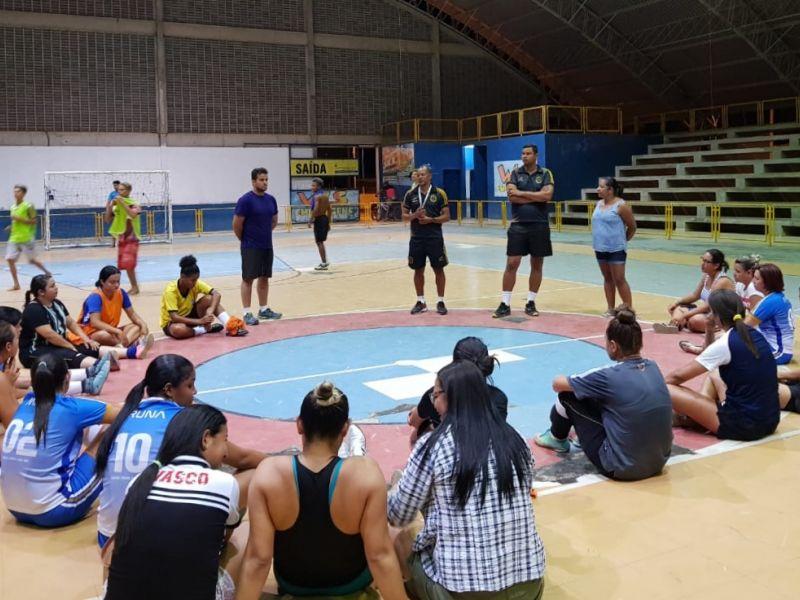 Atletas de Penedo são selecionadas em peneira e passam a integrar o time do Ramalhão