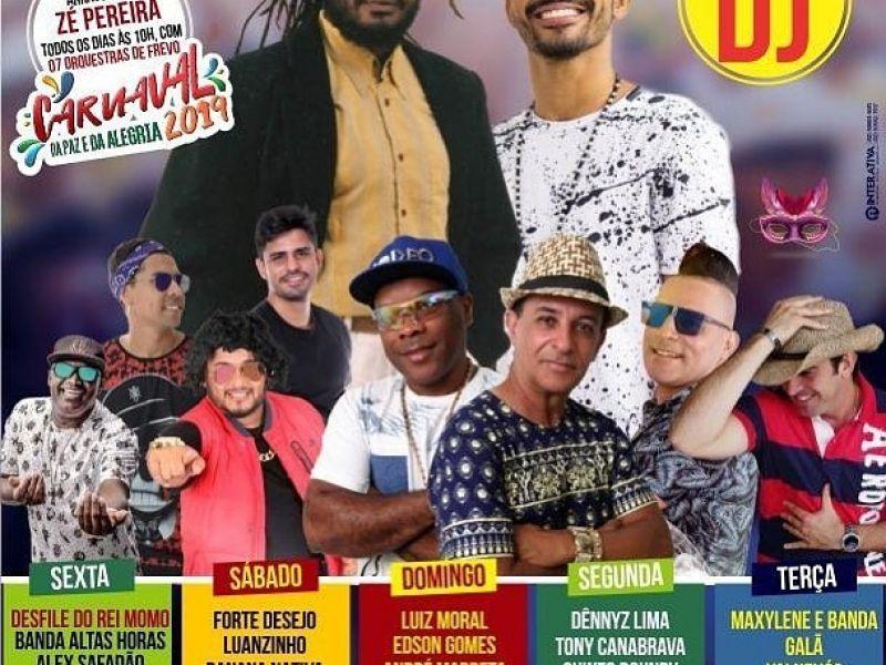 Prefeitura divulga programação completa do Carnaval de Neópolis 2019