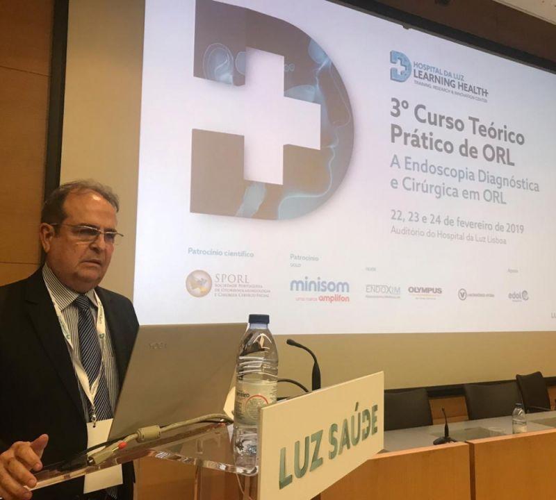 Otorrinolaringologista sergipano representa o Brasil em evento na Europa