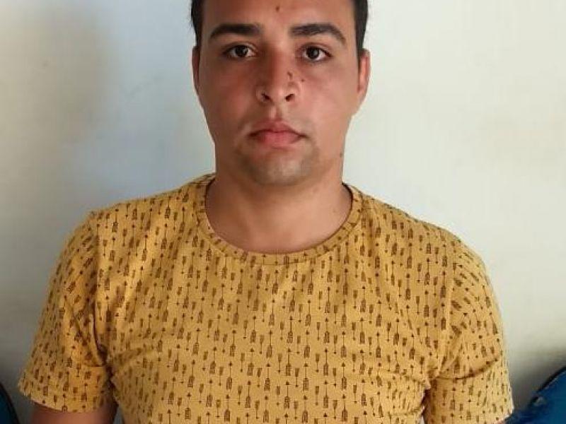 Homem com mandado de prisão em aberto é preso após invadir Vila do Carlinhos Maia