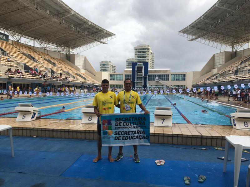 penedenses disputam medalhas em Campeonato Escolar de Natação